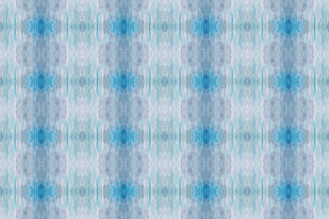 IMPROBABLE SILVER BLUE SKIES  fabric by shi_designs on Spoonflower - custom fabric