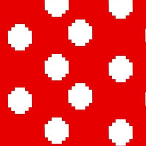 Pixelated Polka Dots