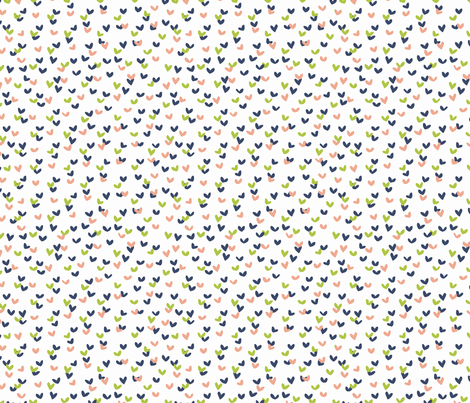 Scatterbrained - Summer fabric by abbyhersey on Spoonflower - custom fabric