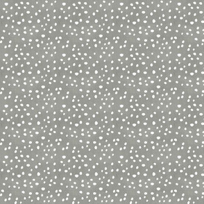 Dots, Dots, and more Dots Gray