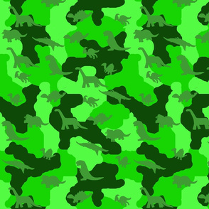 Dino Camo Greens