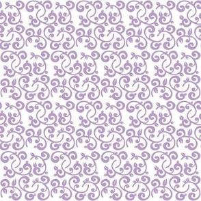 Lavender Floral Vines
