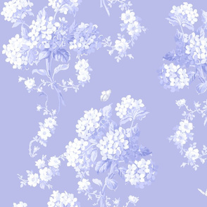 Edwina white on BlueViolet