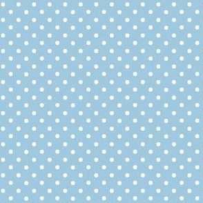 Periwinkle Blue Pin Dots