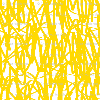Yellow graffiti / scrawl-FFD900