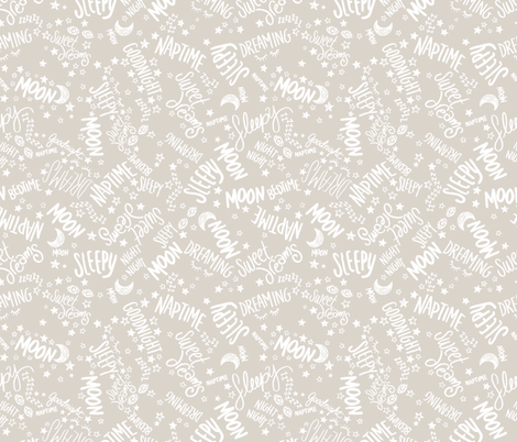 Baby text white on neutral fabric seasonofvictory for Unisex baby fabric
