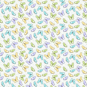 Spring Meadow Butterfly Coordinates