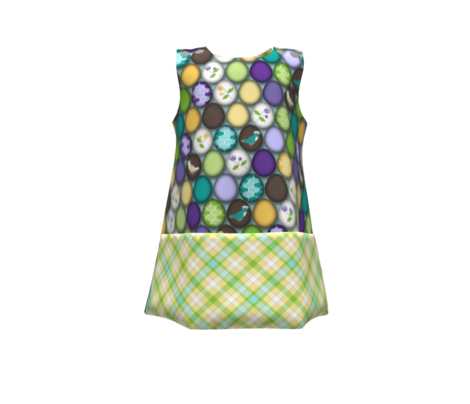 Spring Meadow Picnic Cloth