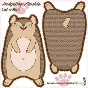 Hedgehog Plushie 01
