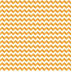 2 Tone Orange Chevron