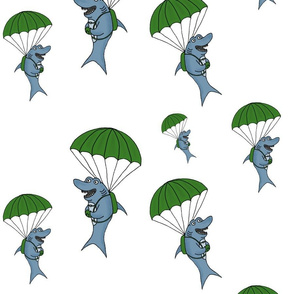 Airborne Shark