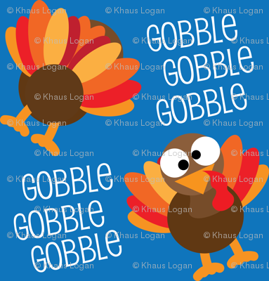 Gobble, Gobble, Gobble Funny Turkey Thanksgiving
