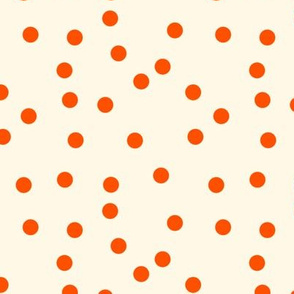 Marquise on Cosmic Latte Small Polka Dots