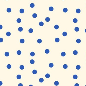Nelson Polka Dots on Cosmic Latte smalL