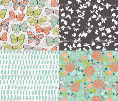 Flower Website For Designing Your Own Fabric