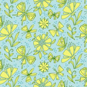Flying Fancy Butterfly Garden_Grn Whimsy SmFlying Fancy Butterfly Garden_Blu Whimsy Lg