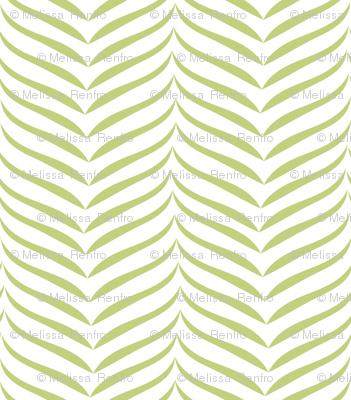 Zebra Stripe Green