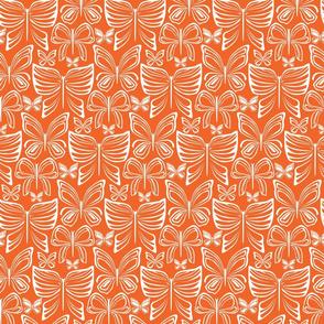 Flying Fancy Butterfly Garden_linear_orange