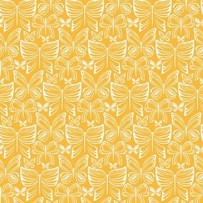 Flying Fancy Butterfly Garden_linear_gold