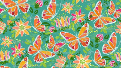 Flying Fancy Butterfly Garden_Focal Small