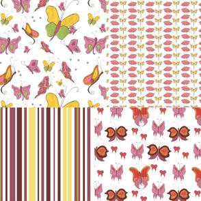 Watercolour Flutterbies