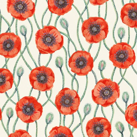 Rrorange_poppies_on_ecru_noise_300dpi_10inw_shop_preview