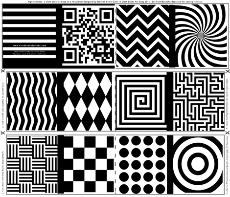 photo of high contrast designs