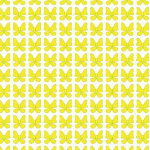 Flight School Yellow Butterflies
