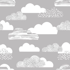 clouds grey sky baby nursery sweet cloud