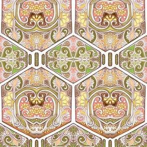 Long Gone Hexagon Tiles