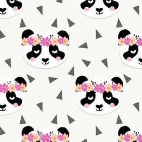 panda flowers cream