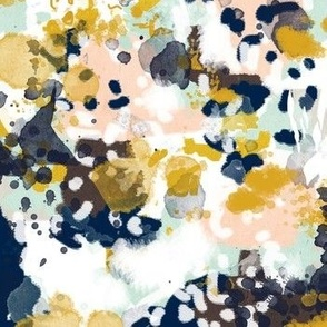 sloane abstract painterly painting design for decor, kids design