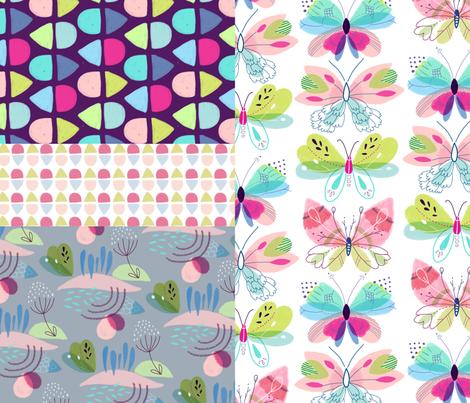 spoonflower_butterfly_contest fabric by dana_elena on Spoonflower - custom fabric