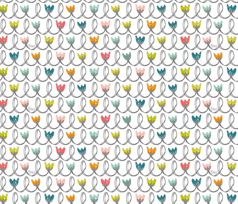 Tulip Scallops fabric by studio_amelie on Spoonflower - custom fabric