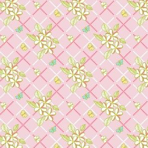 Tropical Trellis - Pink