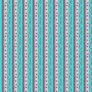 The Aqua Pretend Stripe