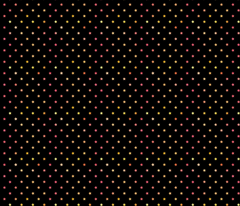 Watercolor Stars red/orange fabric by geekscraftitbetter on Spoonflower - custom fabric