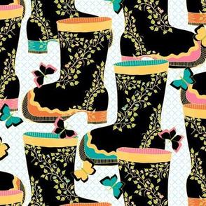 Tropical Rain Boots