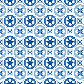 Chinoiserie / Flower Tiles