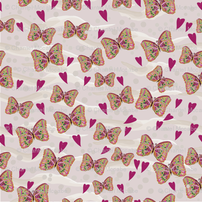 Butterfly Love Coordinating Design