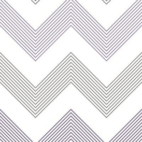 Violet Grey Stripey Chevron