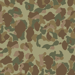 WWII US Camo Jungle Side Colorway