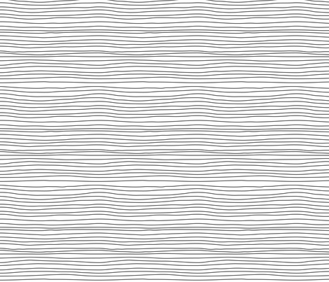 stripes black on white fabric by igotstripes_studio on Spoonflower - custom fabric