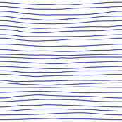 stripes blue on white