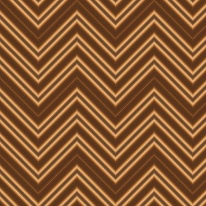 Chocolate Creme Chevron