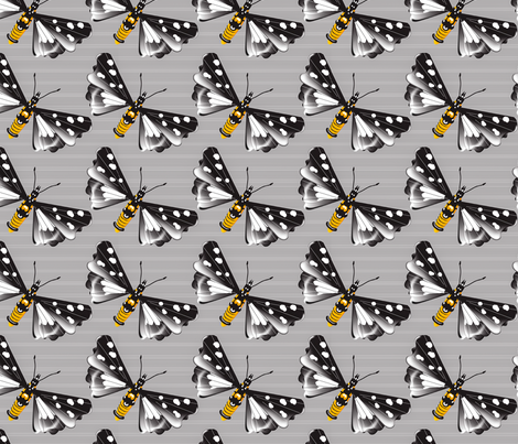 Wing Span fabric by retro_red on Spoonflower - custom fabric