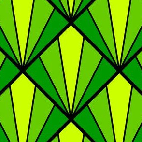 deco diamond 5K : green