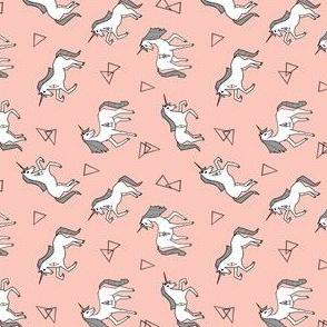 unicorn //  pink railroad pink girls sweet unicorn baby girls