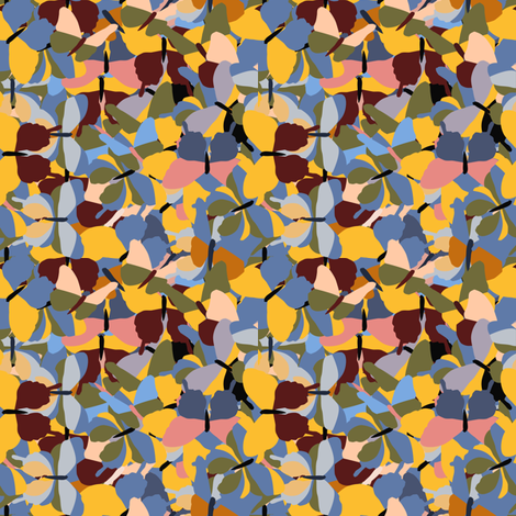 Kaleidoscope_of_butterflies fabric by anino on Spoonflower - custom fabric