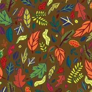 Leaf Path in Dirt